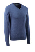 Knitted Jumper v-neck, with merino wool-41